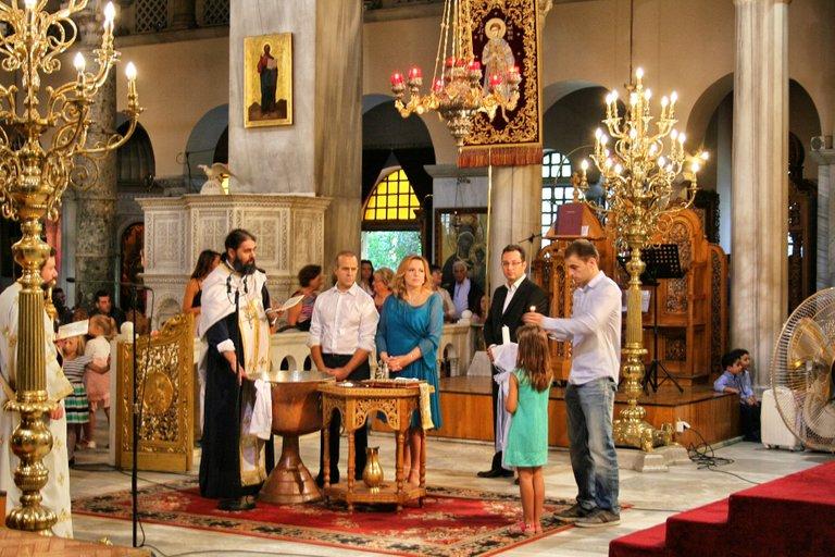 Greeks churches are familiar