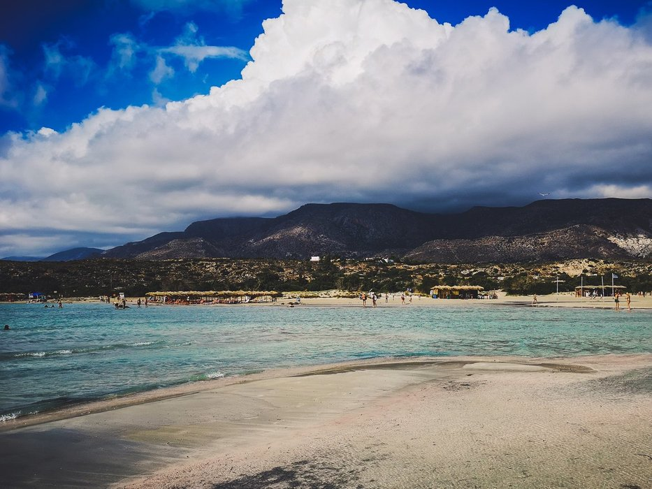 Mountains near Elafonisi Beach, Crete Island