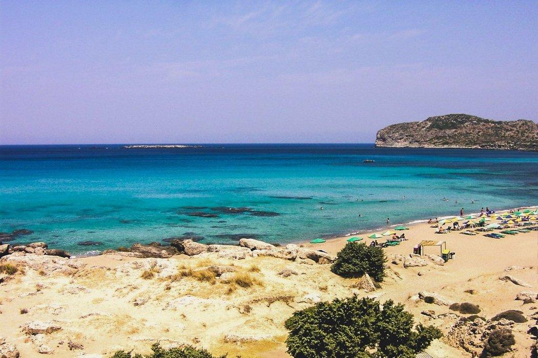 Falasarna Beach, Crete Island