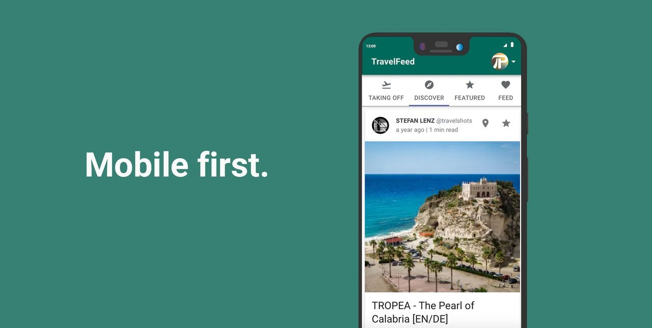 Mobile TravelFeed