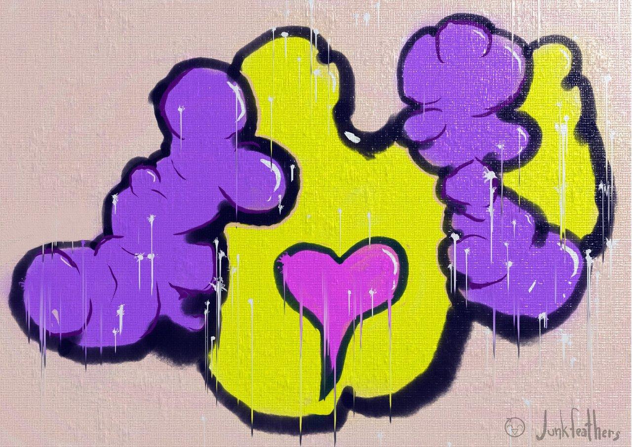 Heart Exposed - VR Graffiti