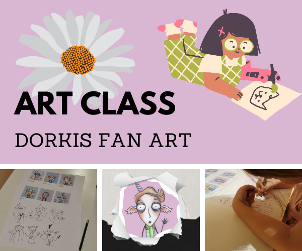 art class dorkis fan art.png