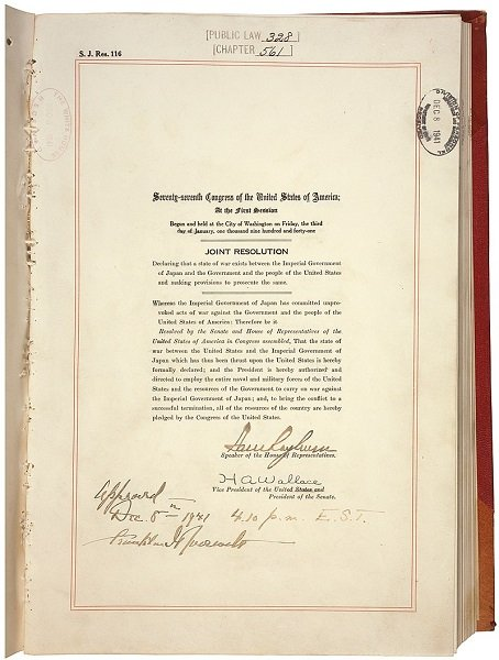 800pxU.S._Congress_Joint_Resolution_to_Declare_War_on_Japan.jpg