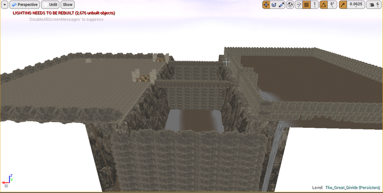 Working on the entrance.png