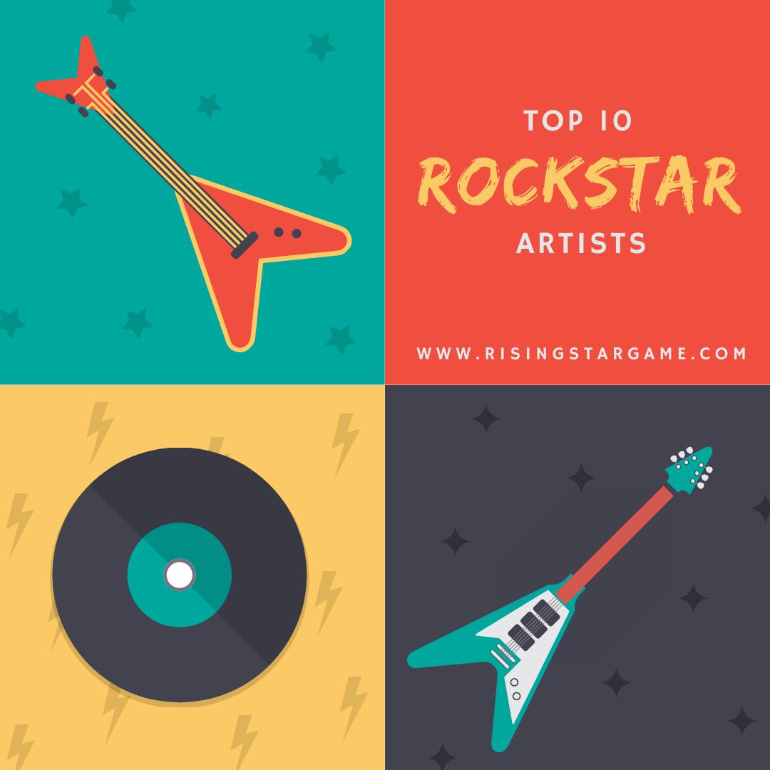 Rising Star Game - RockStar Artists of All Categories October 18