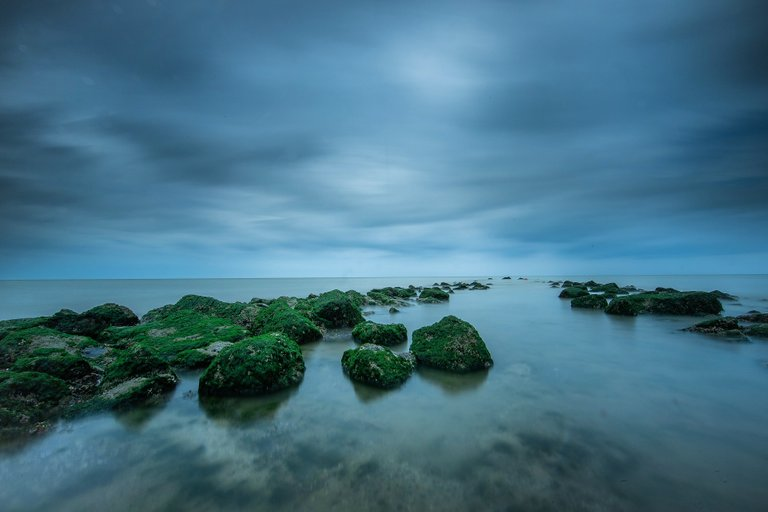 One Minute exposure F22 ISO 100 Leefilter Bigstopper and Little stopper!
