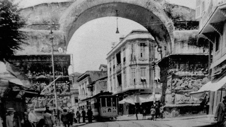 The Arch of Galerius in ancient times