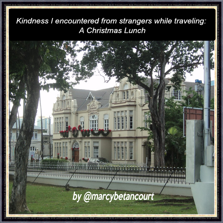 Kindness I encountered from strangers while traveling: A Christmas Lunch