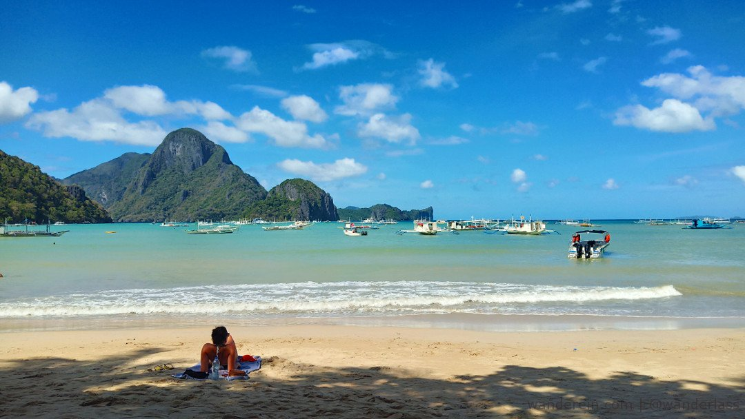 El Nido Port where you leave for island hopping
