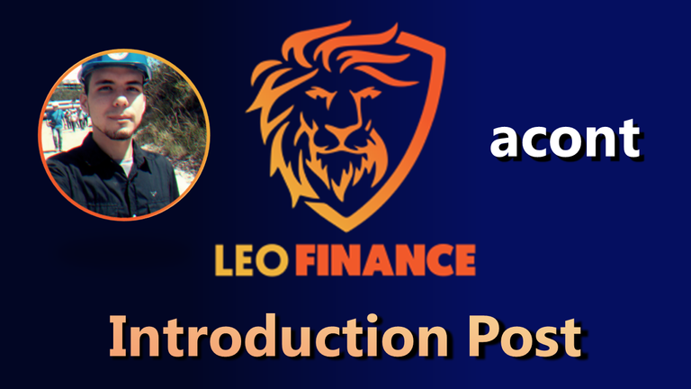 Introduction post LeoFinance acont.png