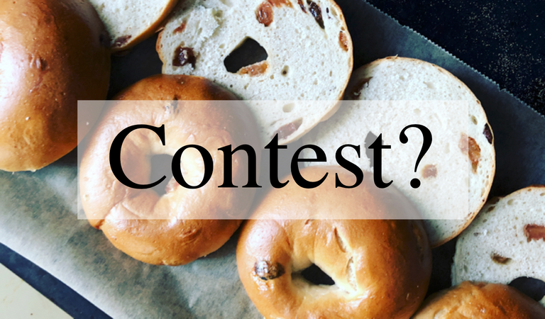 Bread baking contest