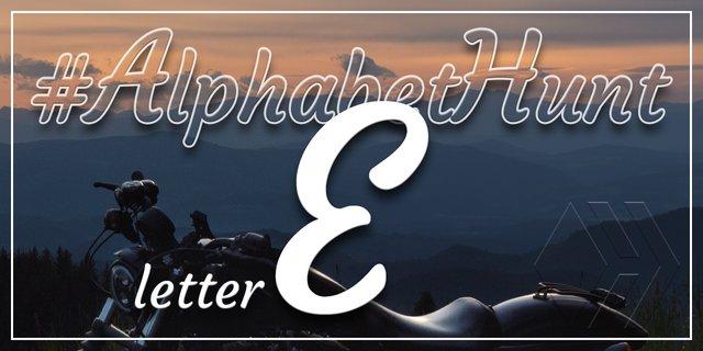 Hive AlphabetHunt - Letter E