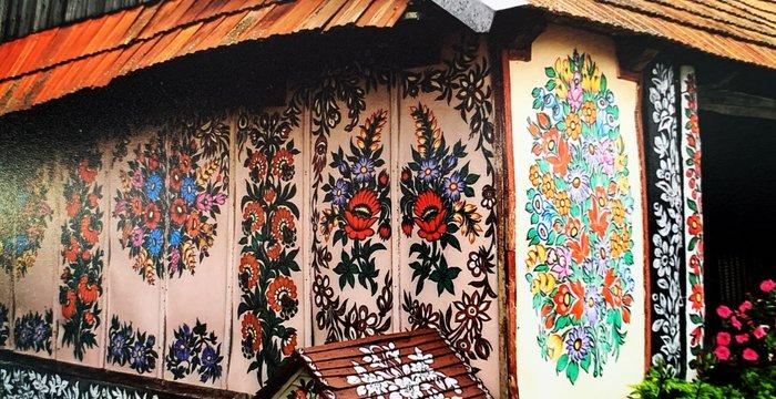 Malowane Chaty w Zalipiu. Po drodze spełnione marzenie Niecieczy.