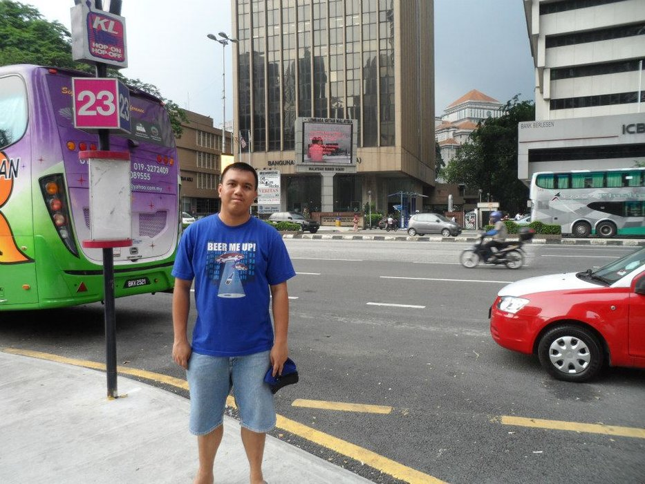 Hanging out somewhere in Kuala Lumpur