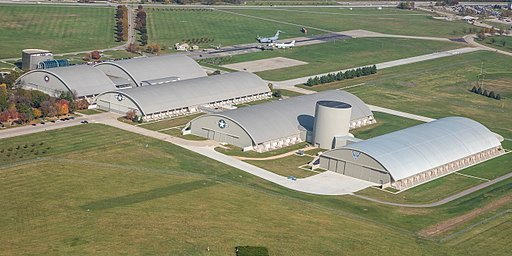 Aerial view of the National Museum of the U.S. Air Force 4