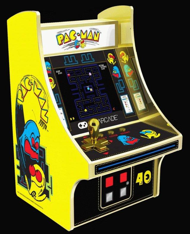 Pac-Man 40th Anniversary Micro Player My Arcade