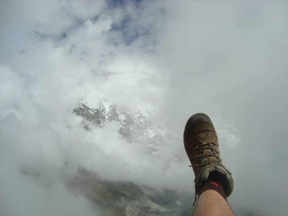 at 5000 meters at this point