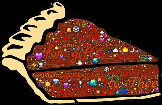 Pie, Thanksgiving, Thanks, Gratitude