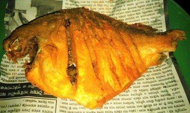 Fried Rupchanda! Yummy!!