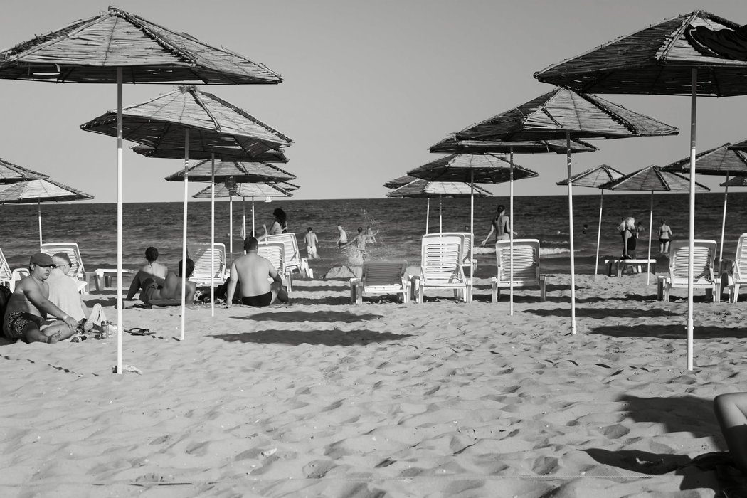The beach where I rested