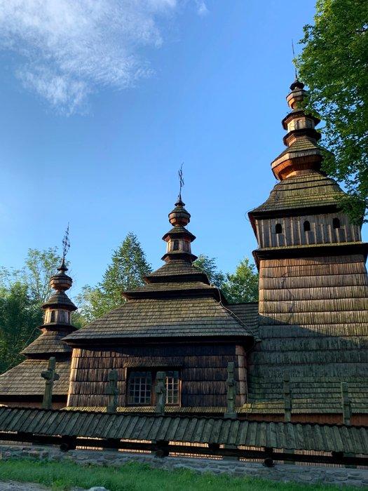 Wooden church in Kotań, Poland