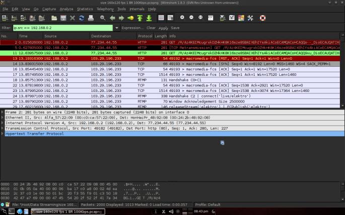 Gambar 3.3 Memasukan perintah penyaringan ip.src == 192.168.0.2.png