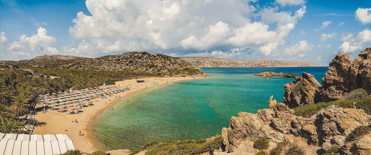 Vai Beach, Crete Island
