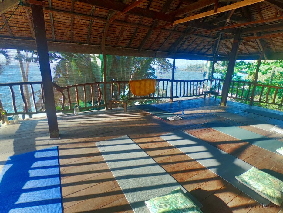Yoga at Deep Moon Resort, Port Barton