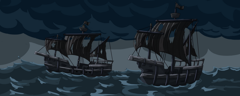 Black ships with black sails.png
