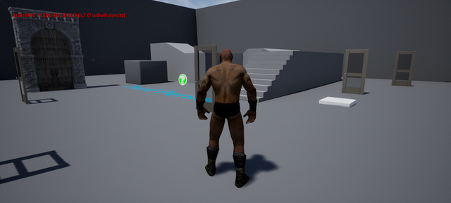 testing doors on a test project in unreal engine 4.png