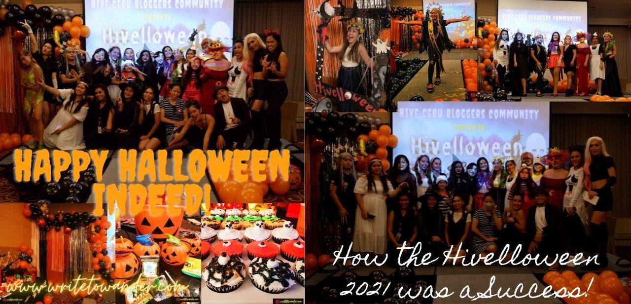 How the HIVElloween 2021 was a Success | I Finally Met Some Virtual Cebuano Hivers! | Jong's POV