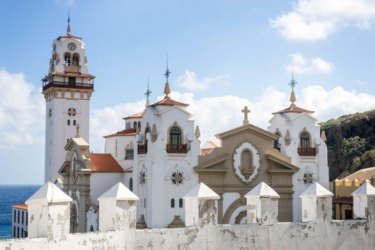The Basilica de Nuestra Señora de Candelaria