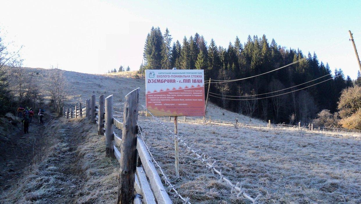 Route: Dzembronya - Mount Pip Ivan