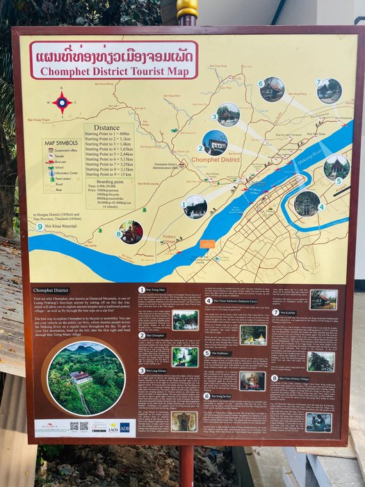 A guide through Chomphet District