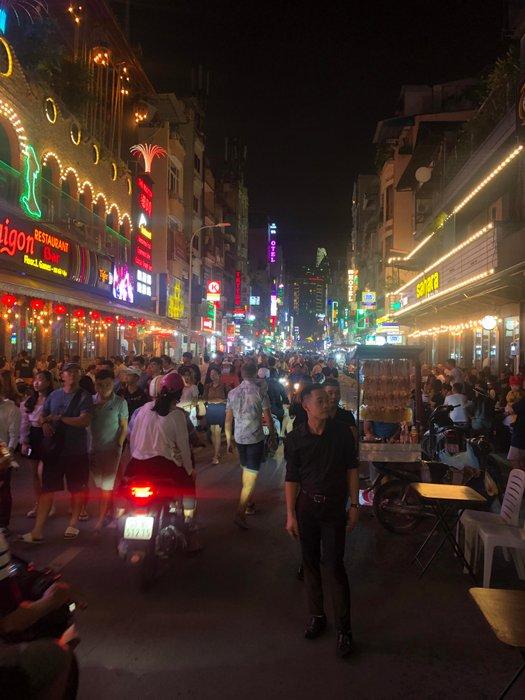 More nightlife in Saigon