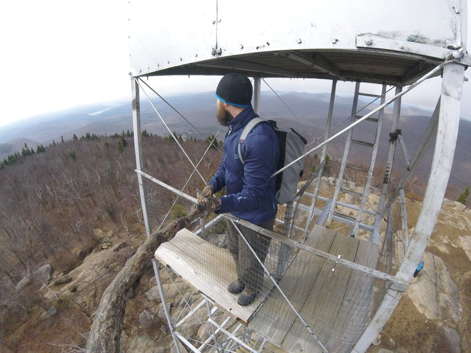 Another fire tower challenge down