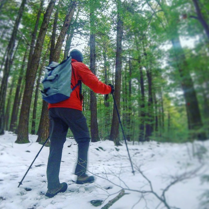 Always be prepared during any winter hikes in Upstate New York