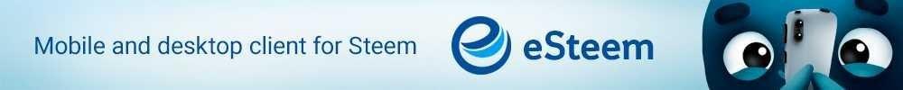 eSteem; mobile and desktop client for Steem