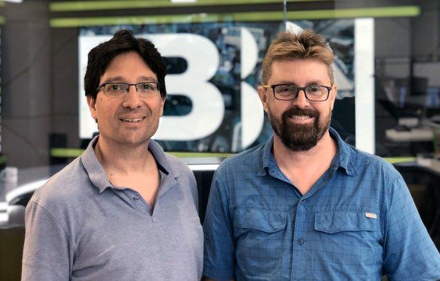 Brian Bishko (left) and Andrew Hamilton of JPBLiberty