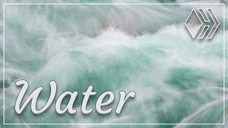 Water flow ... Water fall
