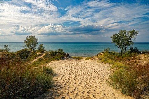 Indiana Dunes State Park, Beach
