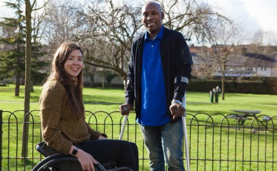 Back Up is a leading UK charity that inspires people affected by spinal cord injury