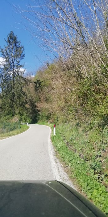Streets have a lot of curves and are not good. It's difficult gist Campiglio of you have a big car.
