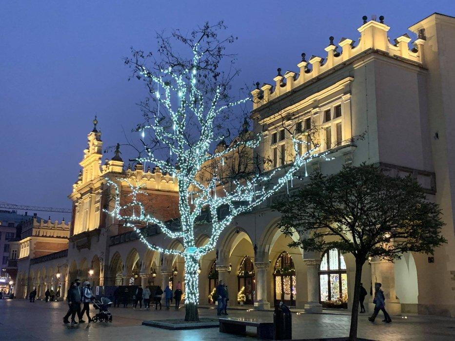 Sukiennice, Main Square in Kraków, Poland