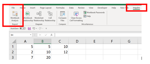 find hardcoded values in excel