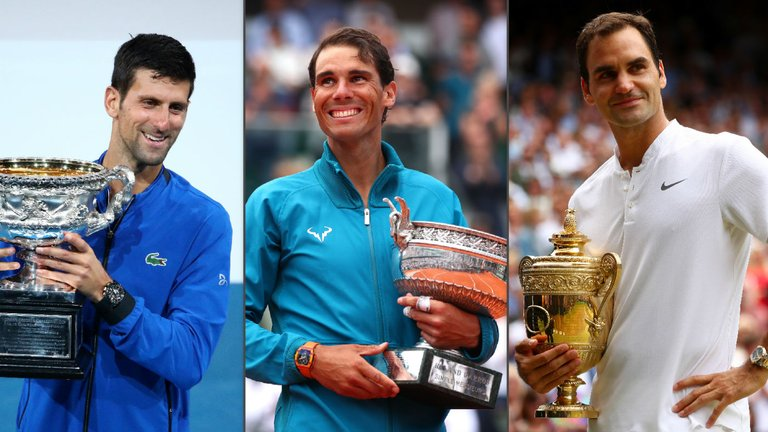 novak_djokovic_rafael_nadal_roger_federer_tennis_grand_slam_titles_getty_images.jpg