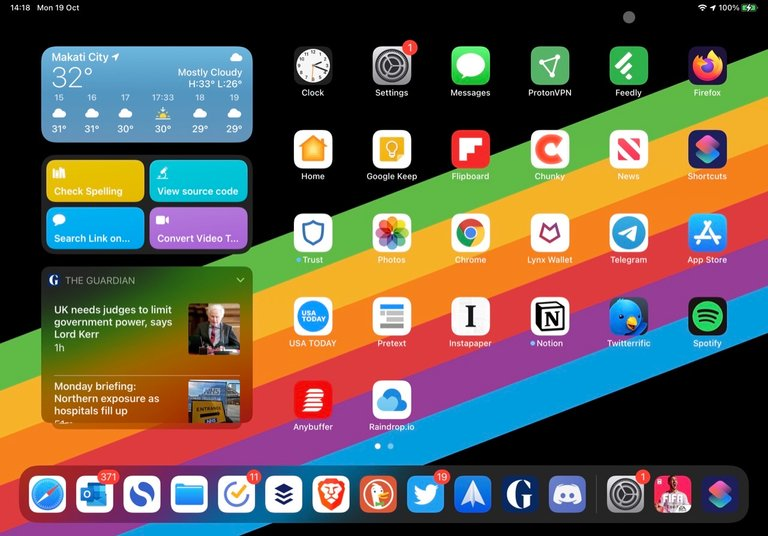 iPadOS with a new addition, the cursor