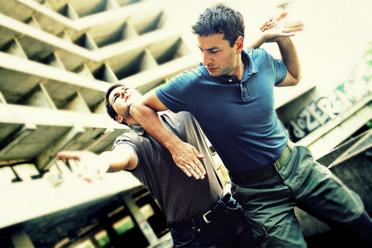 Elbow strike and elbow block.jpg