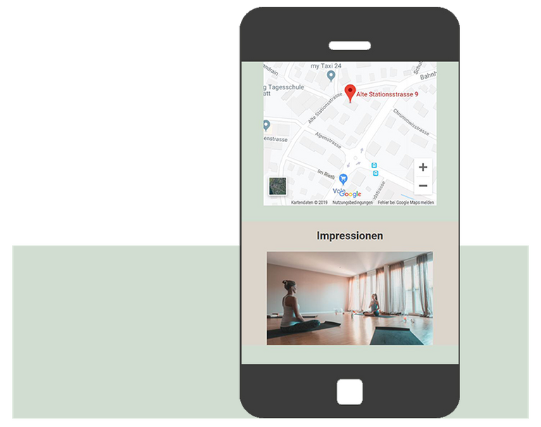 yoga smartphone grafikdesign