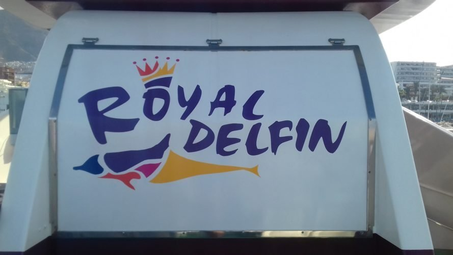 Our boat for the day. Royal Dolphin no less…